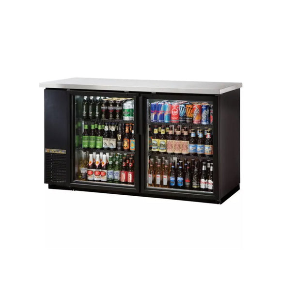 True TBB-24-60G Glass Door Back Bar Cooler, Back Bar Cooler  - Iron Mountain