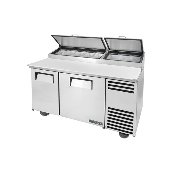 True TPP-AT-60-HC Pizza Prep Table, Restaurant Prep Table  - Iron Mountain