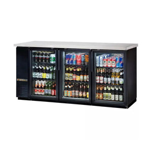 True TBB-24-72G Glass Door Back Bar Cooler, Back Bar Cooler  - Iron Mountain
