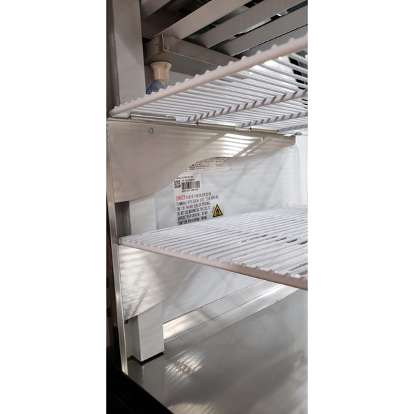 "Curved Glass 48"" Refrigerated Deli Case - Stainless Steel"