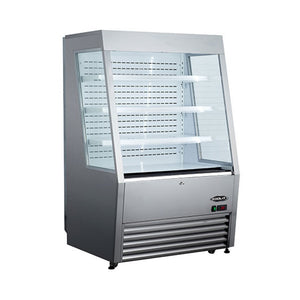 "Kool-It 36"" Open Air Merchandiser Cooler, Open Air  - Iron Mountain"