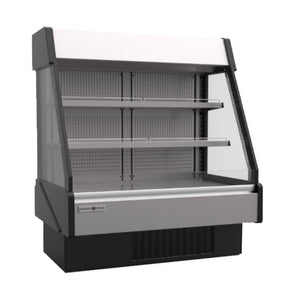 HydraKool Low Profile Open Display Case, Open Air  - Iron Mountain