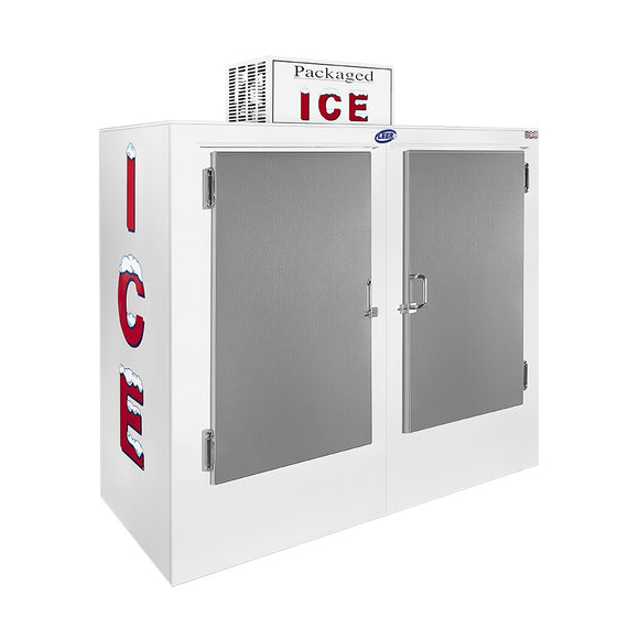 Leer Outdoor Ice Merchandiser - 60 Cu. Ft.