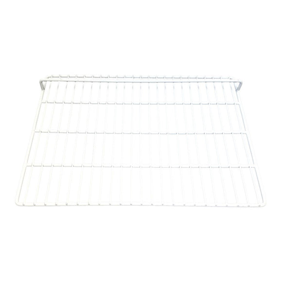 White Epoxy Coated Wire Shelf - 23 1/2