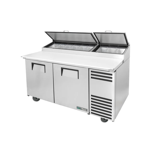 True TPP-AT-67-HC Pizza Prep Table, Restaurant Prep Table  - Iron Mountain