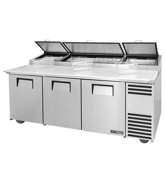 True TPP-AT-93-HC Pizza Prep Table, Restaurant Prep Table  - Iron Mountain