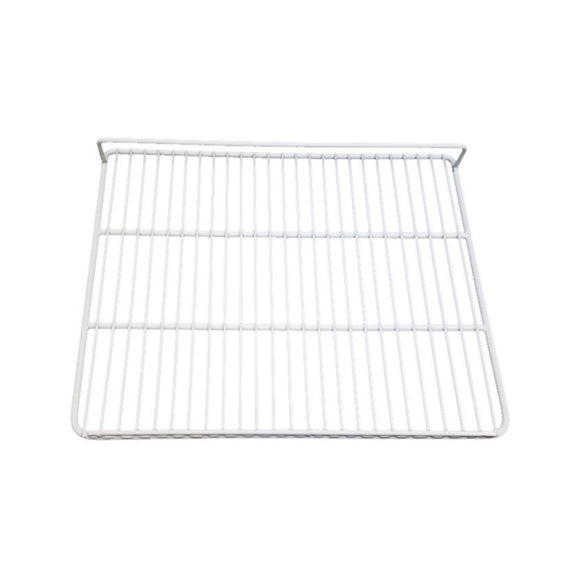 White Epoxy Coated Wire Shelf - 20 1/2