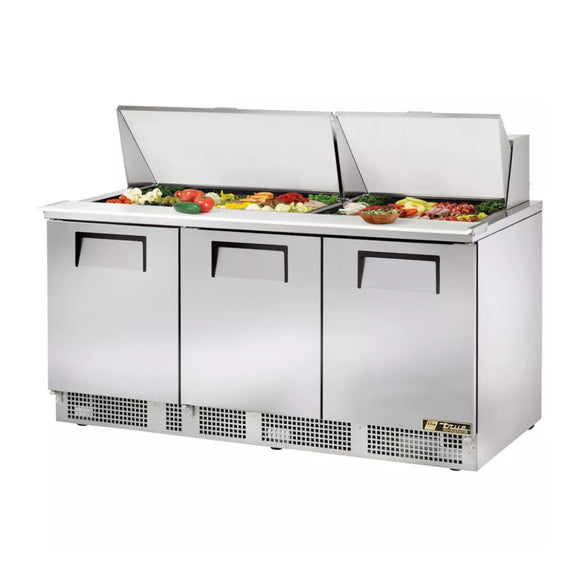True TFP-72-30M Food Prep Table, Restaurant Prep Table  - Iron Mountain