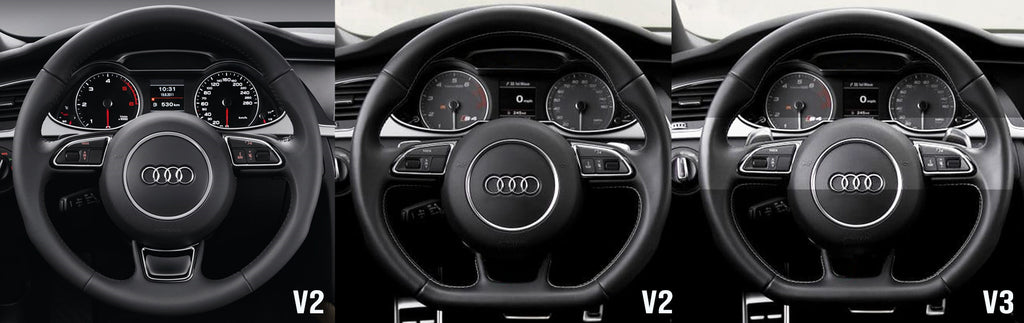 Audi Paddle Shifter Fitment