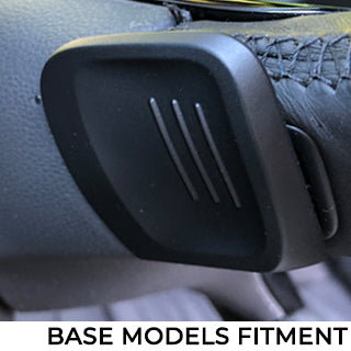 VW Base models paddle shifter fitment