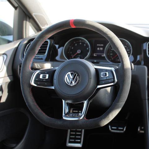 GTI Clubsport MK7 Steering Wheel Cover - DSG Paddles