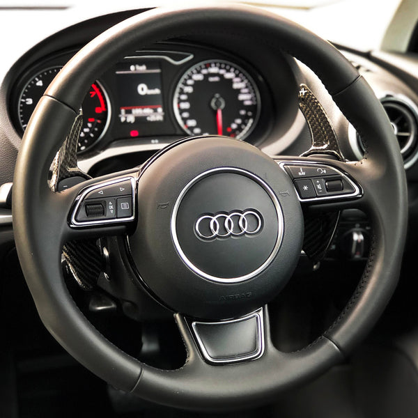 Audi Carbon Fiber Paddle Shifters (V2)