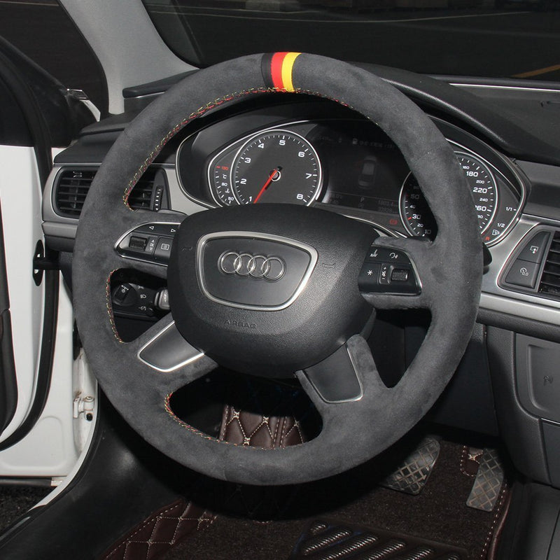 Custom Steering Wheel Cover for Audi - DSG Paddles