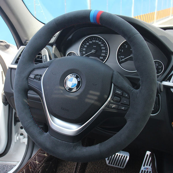 Custom Steering Wheel Cover for BMW - DSG Paddles