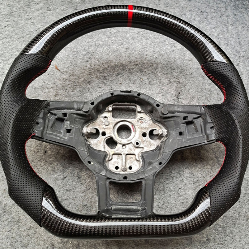 Carbon Fiber Golf MK7 R/GTI Steering Wheel