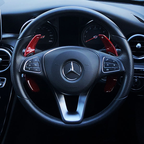 Mercedes Carbon Fiber Paddle Shifters (V4)