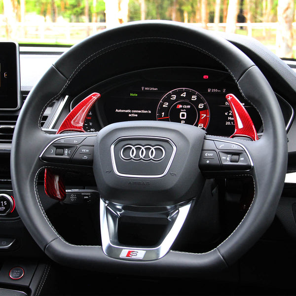 Audi Carbon Fiber Paddle Shifters (V4)
