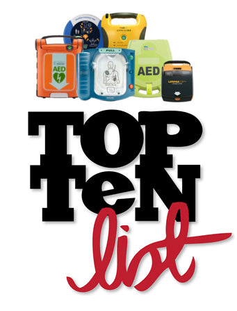 Top 10 Reasons to Purchase an AED