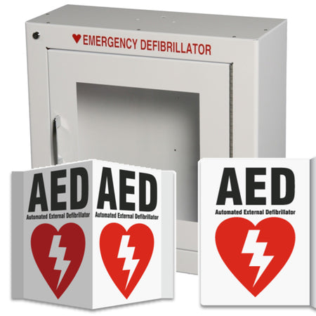 AED Wall Cabinets and Signs