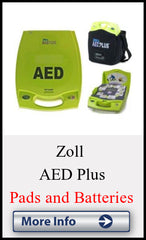 Replacement AED Pads and Batteries