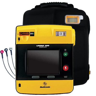 Physio Control Lifepak 1000 AED ECG Display - Recertified