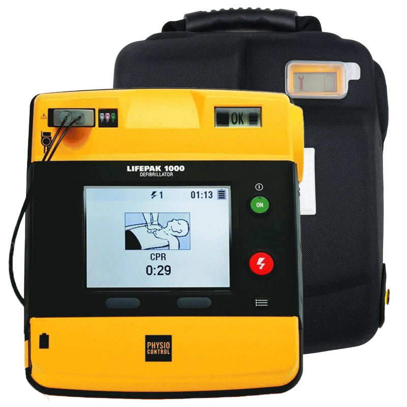 Physio Control Lifepak 1000 AED Graphical Display - Recertified