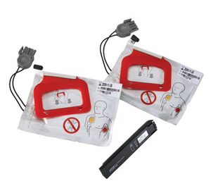 Physio-Control LIFEPAK CR Plus EXPRESS CHARGE-PAK with 2 Sets of Electrode Pads