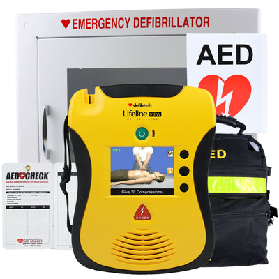 Defibtech Lifeline View - Recertified AED Value Package