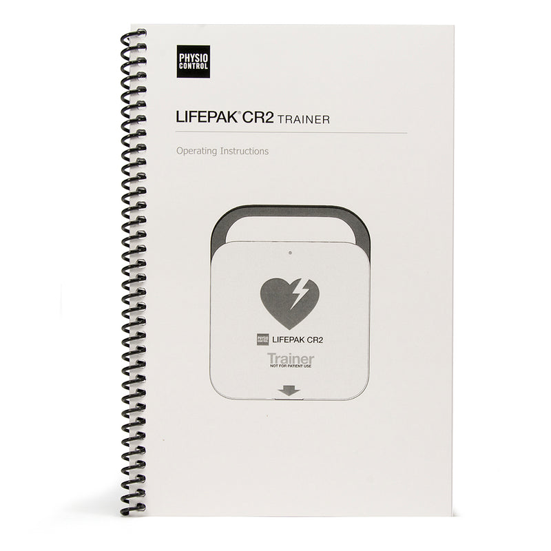 Physio Control LIFEPAK CR2 AED Trainer Operating Instructions