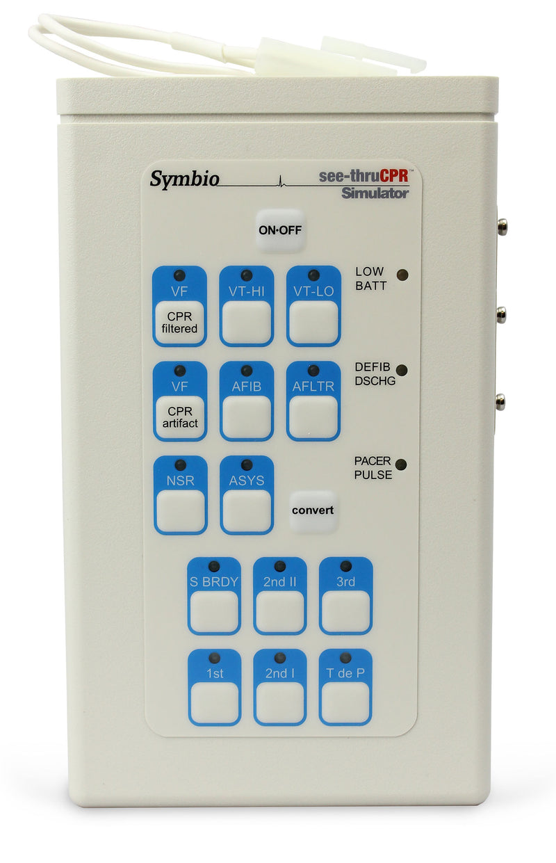 ZOLL AED Pro Advanced 'SeeThru CPR' Simulator/Tester by Symbio