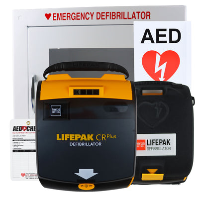 Physio Control Lifepak CR Plus - Recertified AED Value Package