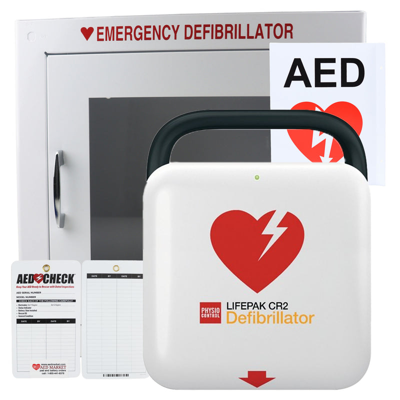 Physio Control LIFEPAK CR2 - New AED Value Package