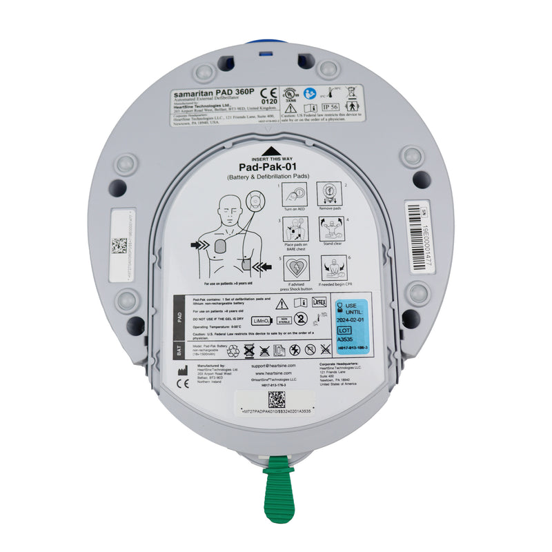 Heartsine 450P Samaritan Pad AED - New AED Value Package