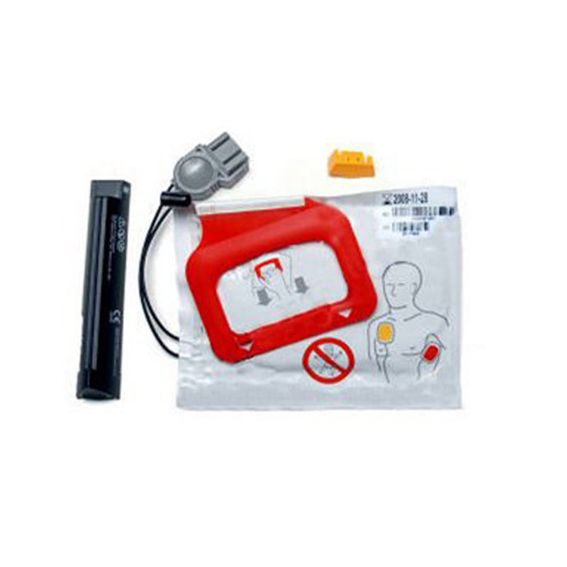 Physio Control Lifepak CR Plus Pads and Battery
