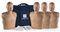 PRESTAN ADULT CPR MANIKIN W/ MONITOR - 4 PACK - DARK SKIN
