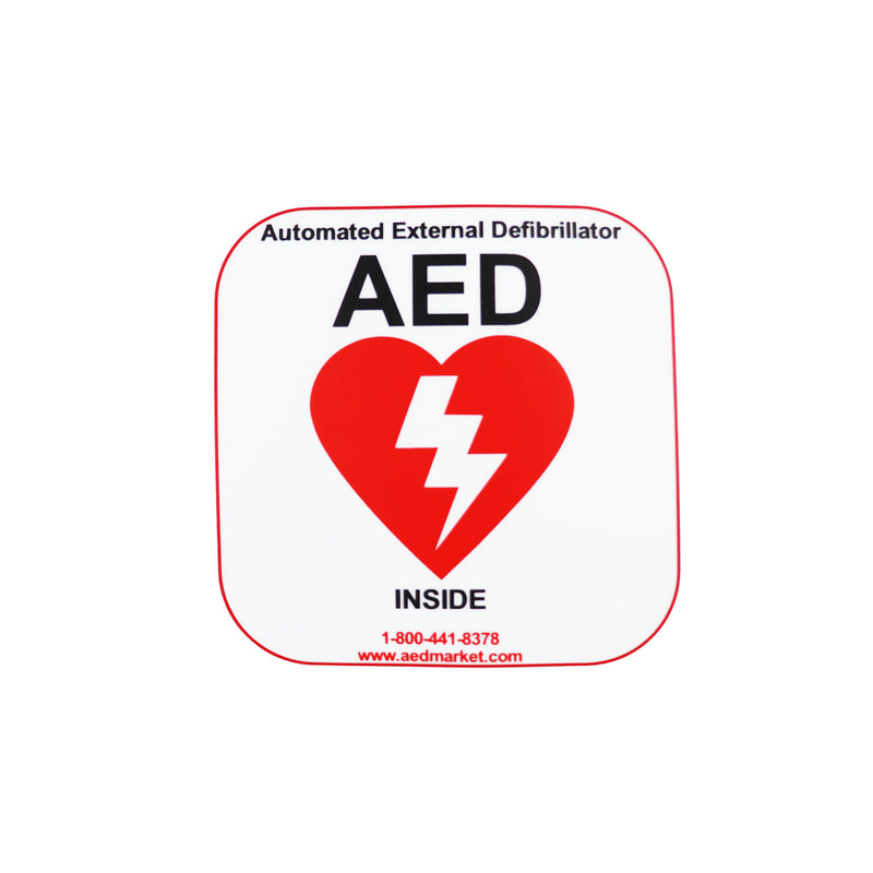 AED Wall Sticker