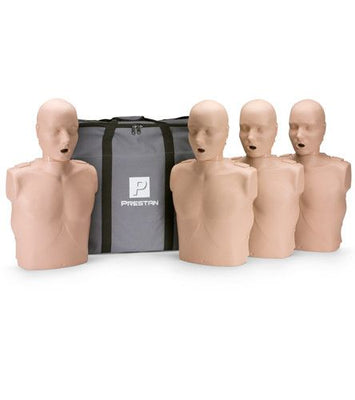 Prestan Adult CPR/AED Training Manikins 4-Pack (Without CPR Monitor)
