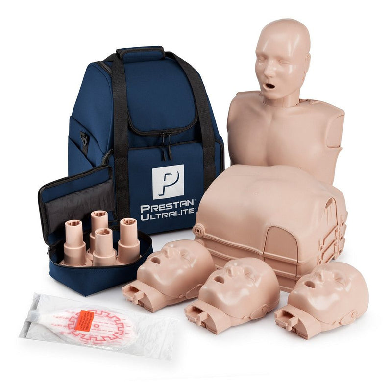 CPR Training Products - Prestan Ultralite CPR Manikins 4-pack
