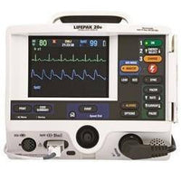 Defibrilator - Physio Control Lifepak 20E Refurbished - 3 Lead, AED, Pacing[powr-button Id=c62a6364_1489590245]