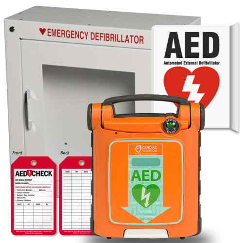 Cardiac Science Powerheart G5 AED Health Care Package