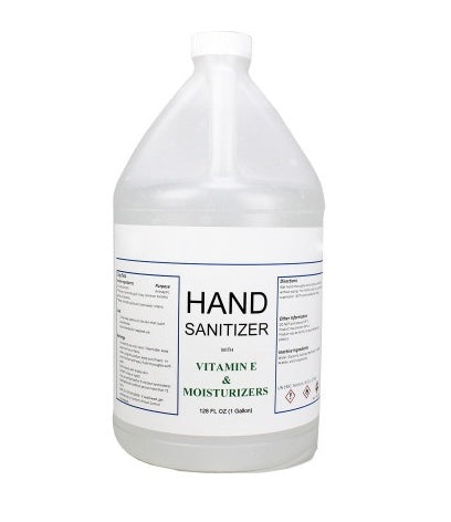 HAND SANITIZER and Pump (GEL-70% Ethyl Alcohol-Made in USA) - 1 GALLON (Free Shipping)