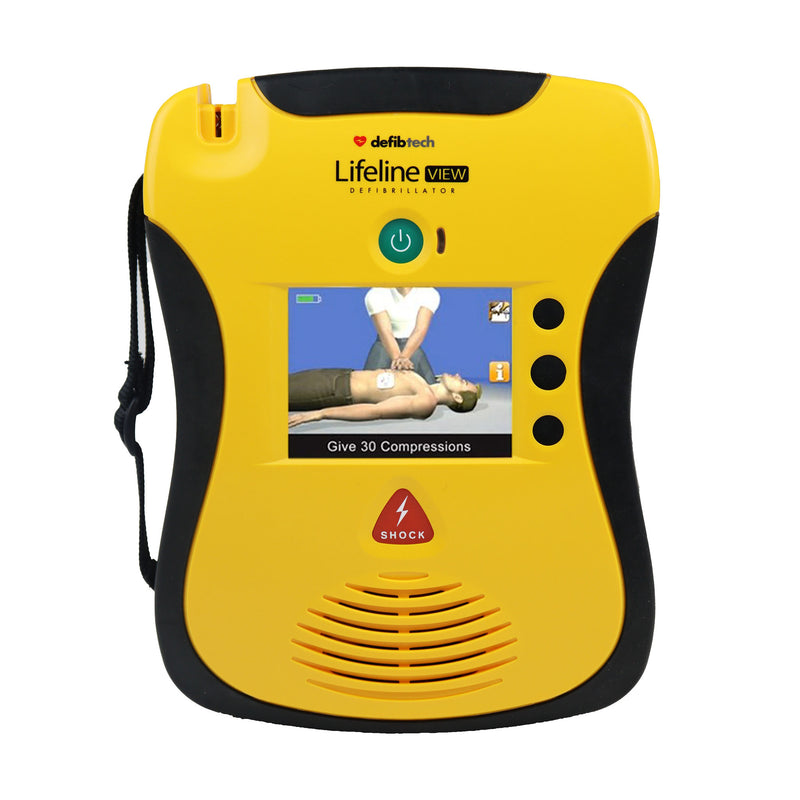Defibtech Lifeline View AED Recertified