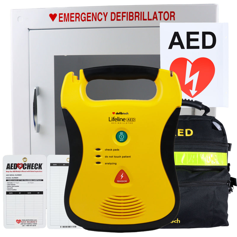 Defibtech lifeline New Aed Package