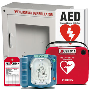 Philips Heartstart Onsite AED Health Club Package