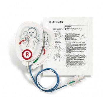Pads - Philips Pediatric Plus Multifunction Electrode Pads