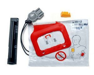 Physio Control Lifepak CR Plus AED Battery & Pads (1 Set)