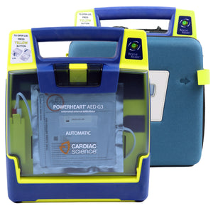 Cardiac Science Powerheart Recertified G3 AED
