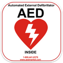 AED Decal/Sticker