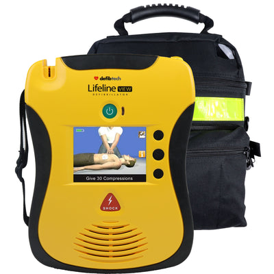 Defibtech Lifeline View AED - Recertified