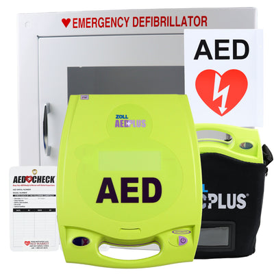 Zoll AED Plus - Recertified AED Value Package
